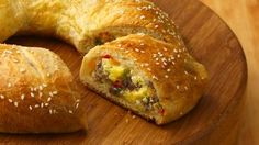 Crescent dough is the base for this cheesy egg dish that looks impressive but is a cinch to make.