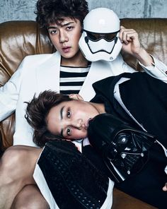 EXO - Vogue Magazine November Issue '15