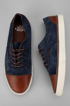 Vans California Era Brogue CA Sneaker! (NAVY STYLE)