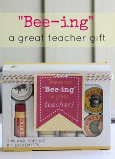 Bee-ing a Great Teacher + free printable