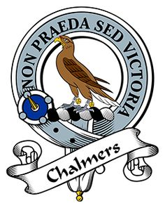Chalmers Family Crest apparel, Chalmers Coat of Arms gifts