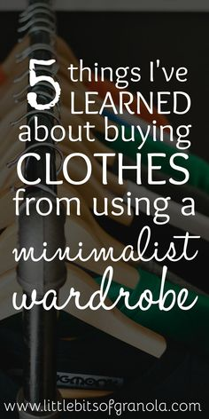 Things a Minimalist Wardrobe Has Taught Me About Buying Clothes - Pockets Full of Wonder Minimalist and capsule wardrobes have completely changed the way I buy clothes!Minimalist and capsule wardrobes have completely changed the way I buy clothes! How To Have Style, Style Me, Minimalist Wardrobe, Minimalist Fashion, Minimalist Living, Capsule Wardrobe, Wardrobe Ideas, Simple Wardrobe, Capsule Outfits
