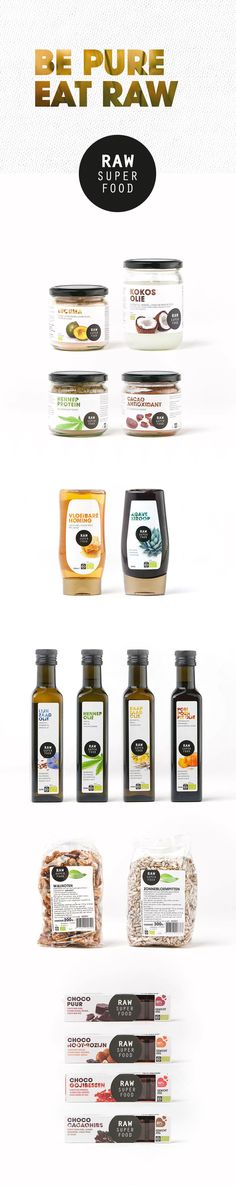 Identity & Packaging RAW Superfood on Behance