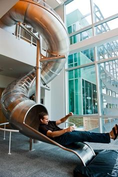 20 Cool and Fun Indoor Slides,my house will have an indoor slide. im so getting this for my house