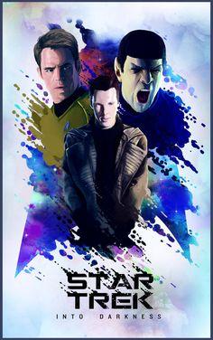Star Trek: Into Darkness - movie poster - Nicolas Barbera