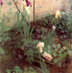 Antonio Lopez Garcia Lirios y Rosa ( Lilies and a Rose) Many artists consider Antonio Lopez Garcia to be somet. Spanish Painters, Spanish Artists, Types Of Painting, Painting & Drawing, Flower Of Life, Flower Art, Paintings I Love, Floral Paintings, Still Life Art