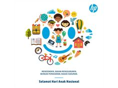 National Children's Day - Hari anak nasional isa indra permana dribbble indonesia