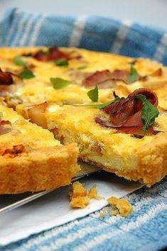 A Quiche or a savory tart