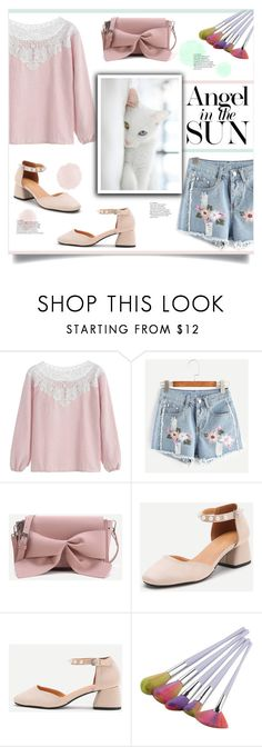 """Angel In The Sun"" by mahafromkailash ❤ liked on Polyvore"