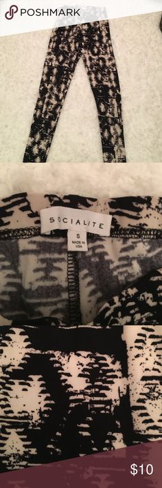 Nordstrom printed leggings got these at Nordstrom's, took the tag off and never worn socialite  Pants Leggings