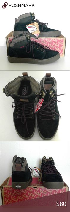 30af99fcc2 NWT Vans Men s Seude Leather Alomar Trek MTE The All Weather MTE is perfect  for cooler weathers with added features designed for the elements.