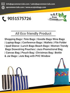 A. P. Exim Commercials offers quality jute products. We are known as the best jute bag manufacturer in India. We offer our products at a low range.