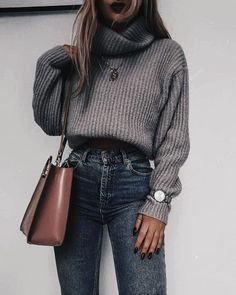 Trendy Summer Outfits for Teen Girls to Try ~ feryhan outfit outfitideas Outfitinspirations Fall Outfits 2019 Fall Outfits casual Fall Out… - outfitideen Winter Mode Outfits, Summer Outfits For Teens, Winter Outfits Women, Winter Fashion Outfits, Cute Casual Outfits, Girl Outfits, Modern Outfits, Sweater Outfits, Urban Outfitters Outfit