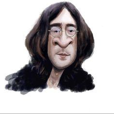 #johnlennon #thebeatles #johnlennoncaricature #caricature #karikatur #karikaturindonesia #digitalpainting #digitalpaintingcaricatureq