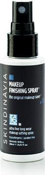Skindinavia Original Make Up Finishing Spray  Original make up Skindinavia greatly extends makeup wear, maintains color and prevents makeup from slipping, melting and creasing.    Recommended for normal to combination skin types.    This fixing spray means fewer touchups throughout the day, helps prevent makeup meltdown, holds eye shadow, foundation, blush, and conceale...  View this product at... http://www.cocktailcosmetics.co.uk/prod/skindinavia-original-make-up-finishing-spray