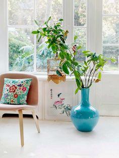 Pimpelwit : Inspiratie voor in huis gebaseerd op de Chinese bloementuin - Pimpelwit styling   Interieurontwerp en styling advies
