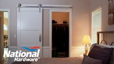 Get Inspired, Hang a Sliding Barn Door in your Home this Weekend \\ Interior Sliding Doors are EVERYWHERE, and at National Hardware we're proud to offer Interior Sliding Door kits. Watch our latest installation video to learn how to hang a Barn door in your home