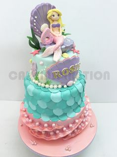 ❋ Mermaid Party Cake