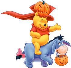 Halloween Pooh & Eeyore