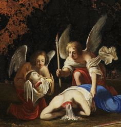 Attributed to Jacques Stella The Miracle of the Martyrdom of St Catherine of Alexandria