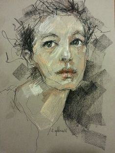 Sena Yıldırım - Soft Pastel Portrait 2014