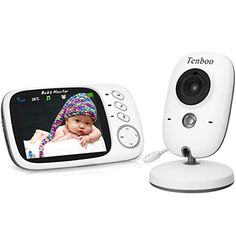 Babyphone mit Kamera Video Baby Monitor Gegensprechfunktion LCD Display COSANSYS