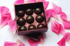 Guava bonbons collection! #bonbons #chocolate #chefworks #chocolaterie