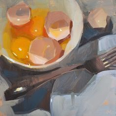 Carol Marine's Painting a Day: Egg-tastic