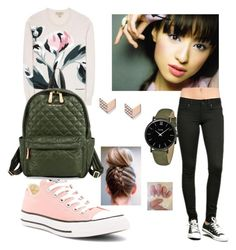 """""""sisi"""" by khaliunaa-supekova on Polyvore featuring interior, interiors, interior design, home, home decor, interior decorating, Converse, Burberry, M Z Wallace and CLUSE"""