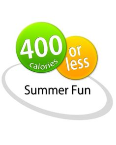 400 Calories or Less: Summer Fun Cookbook $3.99
