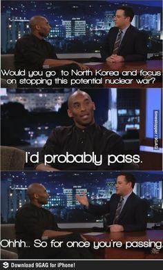 Jimmy Kimmel gets Kobe!