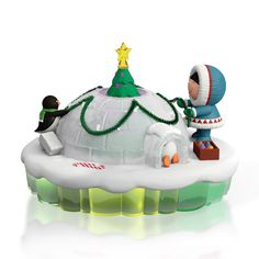 2015 Frosty Friends Dome For the Holidays Hallmark Keepsake Christmas Ornament - Hooked on Hallmark Ornaments