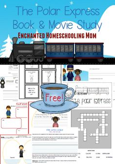 Free Polar Express Book and Movie Study Printable