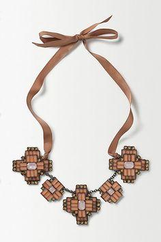 Blossom Deco Necklace #anthropologie