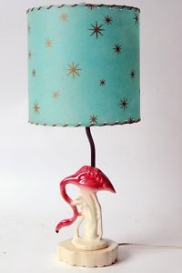 Atomic Flamingo Lamp