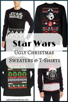 Star Wars Ugly Christmas Sweaters & T-Shirts