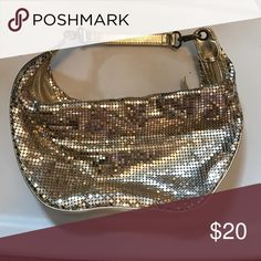 Gold sparkly purse! Used but great condition Bisou Bisou Bags