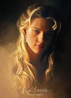 Pin de Scarlett Johansson: Cuadros Modernos: Mujeres Lindas y Famosas Retratos al Óleo http://ift.tt/2mMX639 http://ift.tt/2Dmz36e