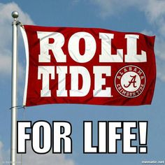 Crimson Tide Roll Tide Flag measures is made of 2 layer polyester, has quadruple stitched flyends for durability, and is readable correctly on both sides. Our Crimson Tide Roll Tide Flag is officially licensed by the university, school, and the NCAA. Crimson Tide Football, Alabama Football, Alabama Crimson Tide, College Football, Alabama Baby, Football Team, Thing 1, University Of Alabama, Die Hard