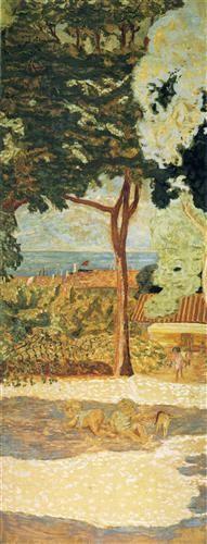 The Mediterranean (centre of triptych) - Pierre Bonnard