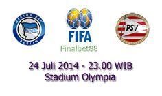 Prediksi Bola Hertha Berlin Vs PSV 24 Juli 2014