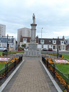 Saltcoats War Memorial, Saltcoats, North Ayrshire, Scotland