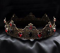 JENARO - Red Imperial Medieval Crown