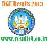 Rajiv Gandhi University UG Results 2013