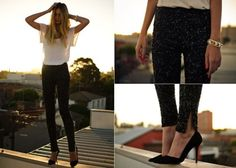 Sequin pants - need, want, now!