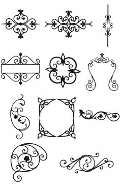 OregonPatchWorks.com - Sets - Wrought Iron