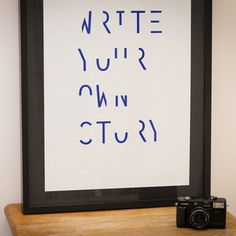 Write your own story - shop.antoninplusmargaux.com