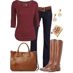 """~Burgundy Wine~"" by mels777 on Polyvore"