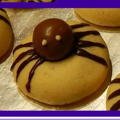 Rezept Halloween Spinnenkekse von Mamanita Müller - Rezept der Kategorie Backen süß