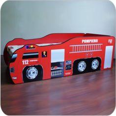 Pat copii  Pompieri